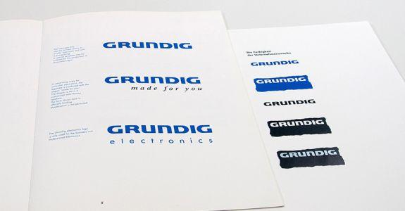 Re-Design Unternehmensauftritt <br /> GRUNDIG