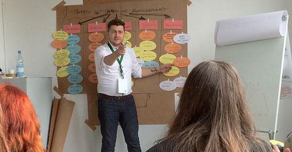 projekt zukunft – Workshop der Senatsverwaltung