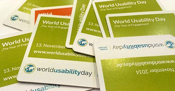 WUD – World  Usability Day in Berlin
